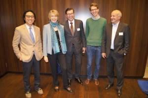 Barbara Kux and other panelists at NextGen CH Network Kick-off, Zurich, 14 November 2016