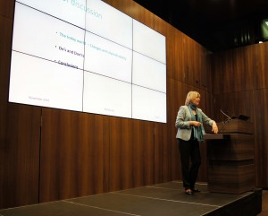 Barbara Kux, presentation at NextGen CH Network Kick-off, Zurich, 14 November, 2016